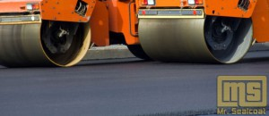 Steam Rollers asphalt paving